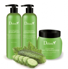 Cucumber Extract Series Hair/Skin Care Products for OEM/ODM Service