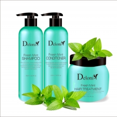 Fresh Mint Series Hair/Skin Care Products for OEM/ODM Service